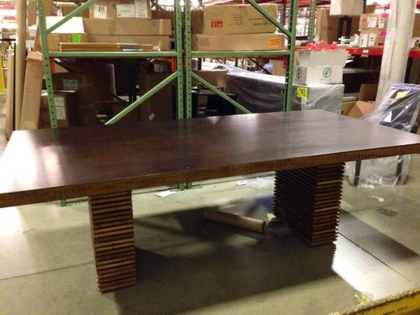 $1399 Investment Dining Table - Craigslist