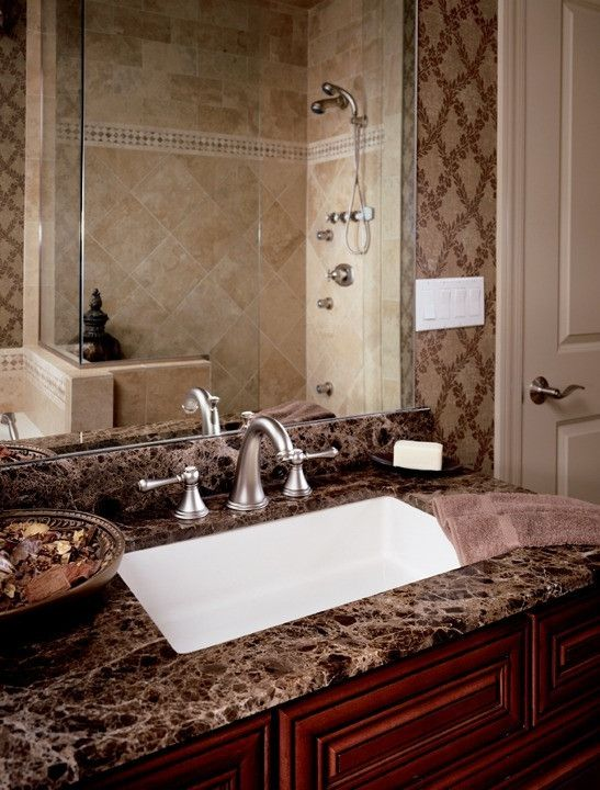 The Fixture Gallery GROHE Geneva   Low Spout Lavatory Wideset