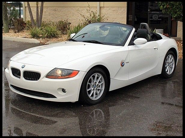 2003 BMW Z4 Convertible (Just like mine except mine is an