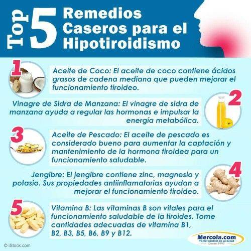 Para el hipotiroidismo remedios