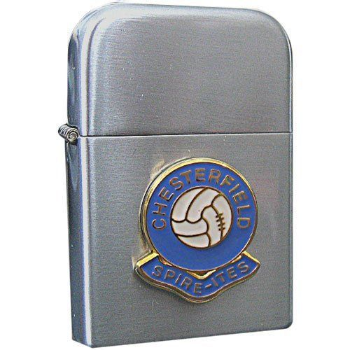 Rotherham United football club stormproof petrol lighter