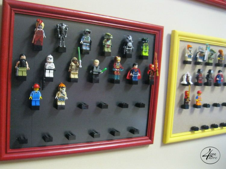 Thrifted frame lego storage l lego - Lego kinderzimmer ...