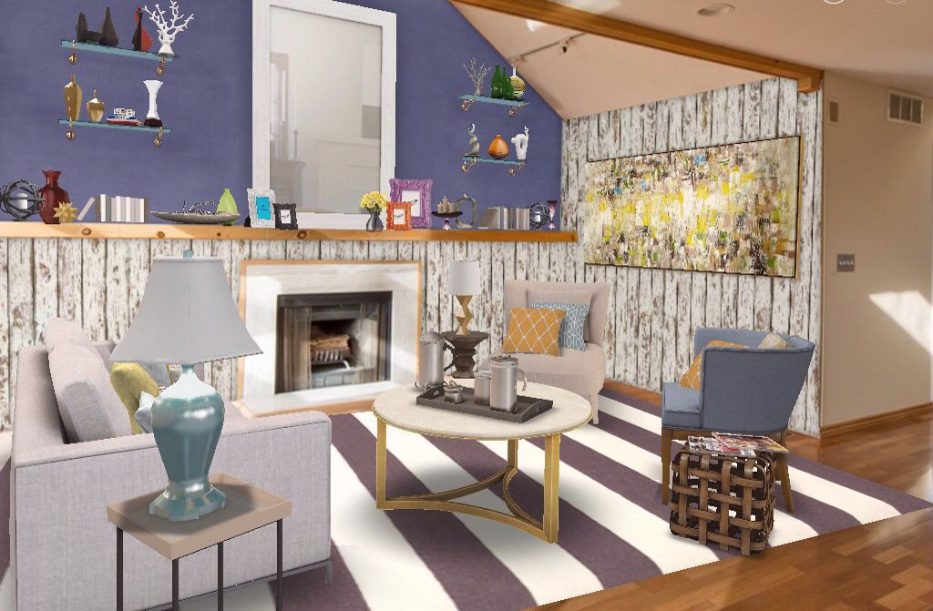 Eccentric Farmhouse Eclectic Interior Colorful Artsy Home Decor Design