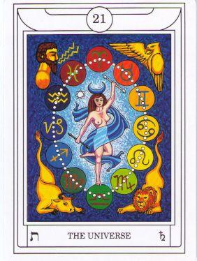 The Universe golden dawn magical tarot