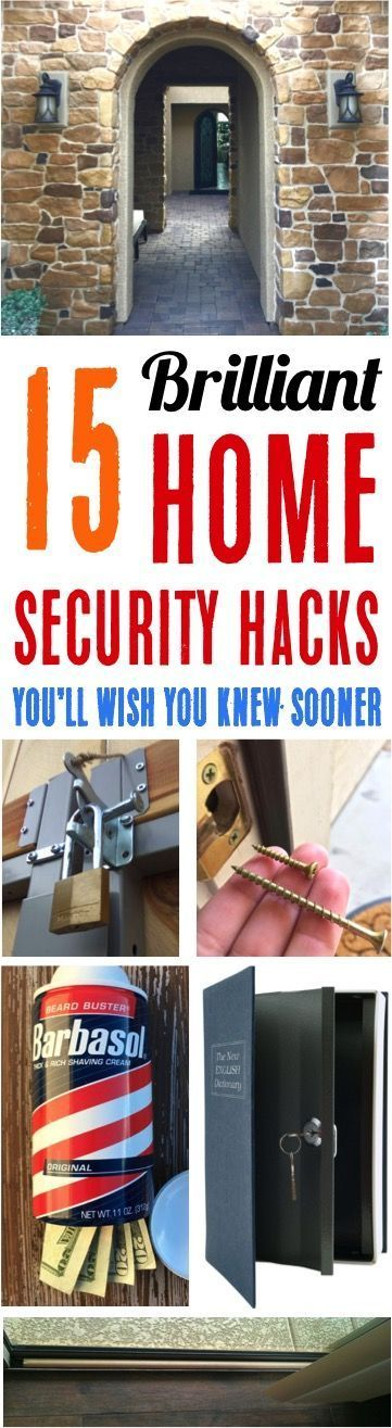 Home security ideas and diy tricks youll wish you knew sooner want some creative ways to make your home secure without spending a bundle of money you are going to love these best diy home security tricks solutioingenieria Image collections