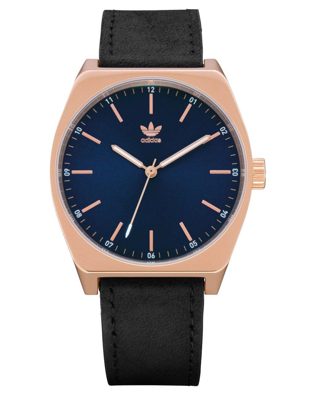 folleto colgar pétalo  Adidas Process L1 Watch Rose Gold Navy Black Mens Watches Size ...