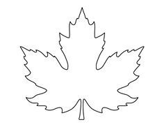 Printable full page maple leaf pattern use the pattern for crafts printable full page maple leaf pattern use the pattern for crafts creating stencils pronofoot35fo Image collections