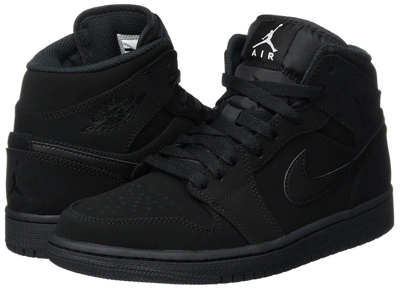 quality design efc5d 06a25 Amazon.com  Nike Men s Air Jordan 1 Mid Basketball Shoe  Nike  Shoes  jordan   basketball  shoe  sports  style  fashion  men  boys  nike  running   clothing ...