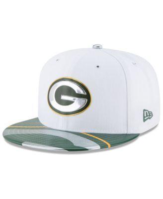 4c836e789e8 New Era Boys  Green Bay Packers 2017 Draft 59FIFTY Cap - White Green 6 3 8