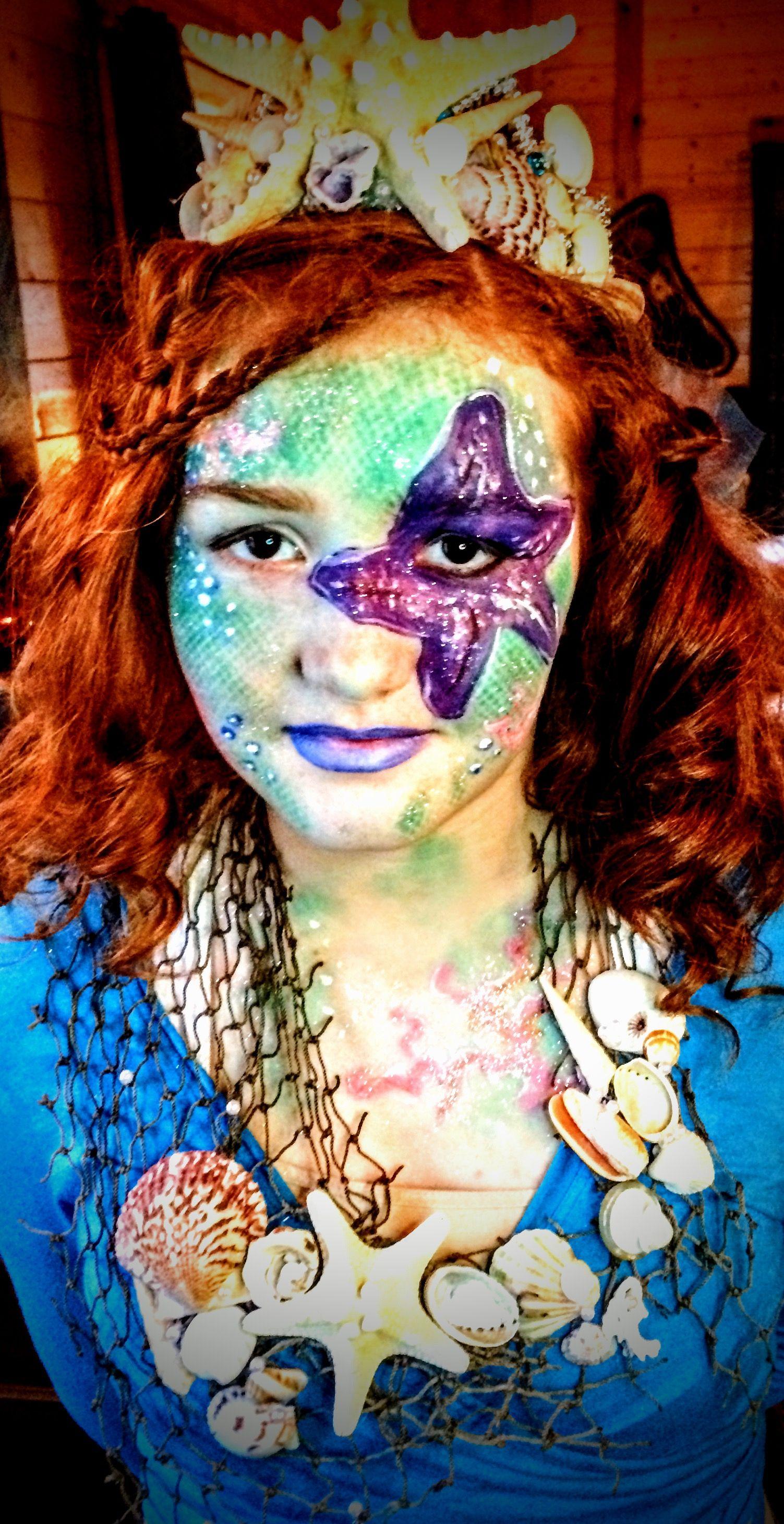 Mermaid FacePaint •20+mins •Paints Snazaroo 28 color