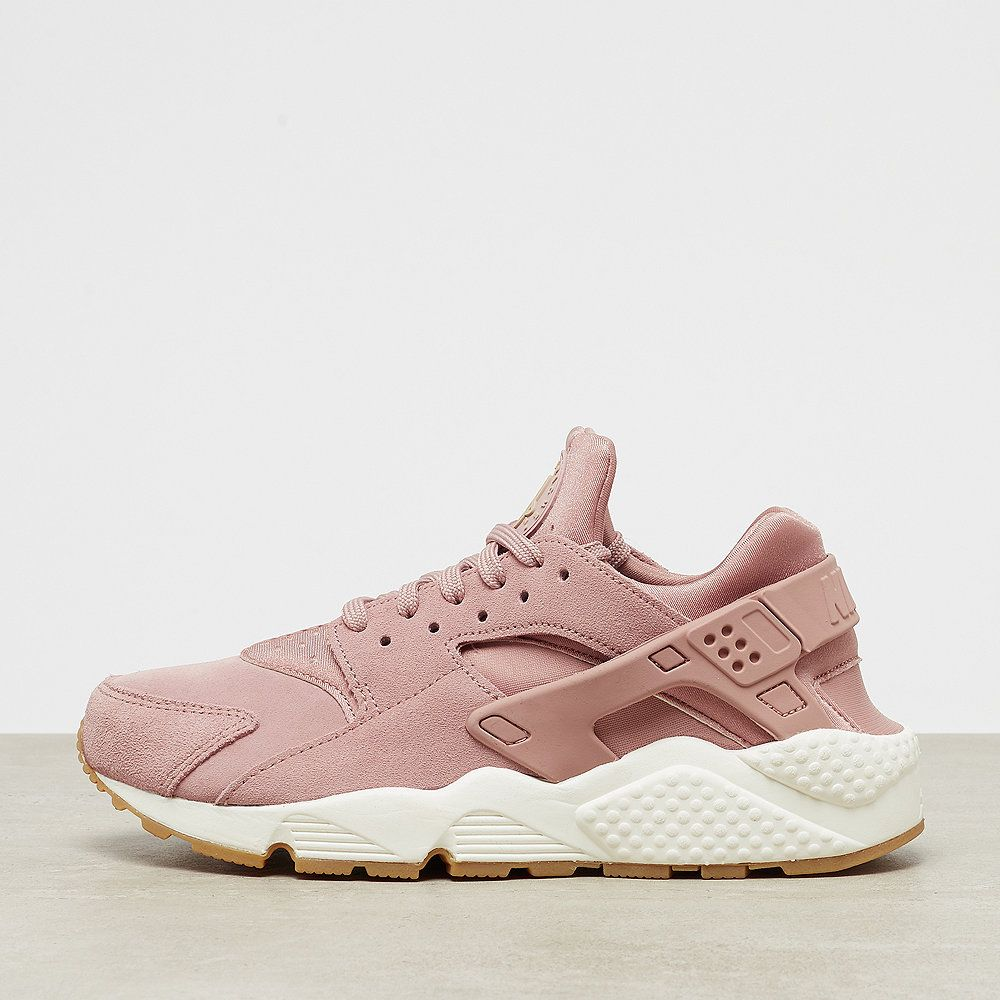 sports shoes 908e8 582c1 NIKE Huarache Run SD particle pinksailgum light brownmushroom