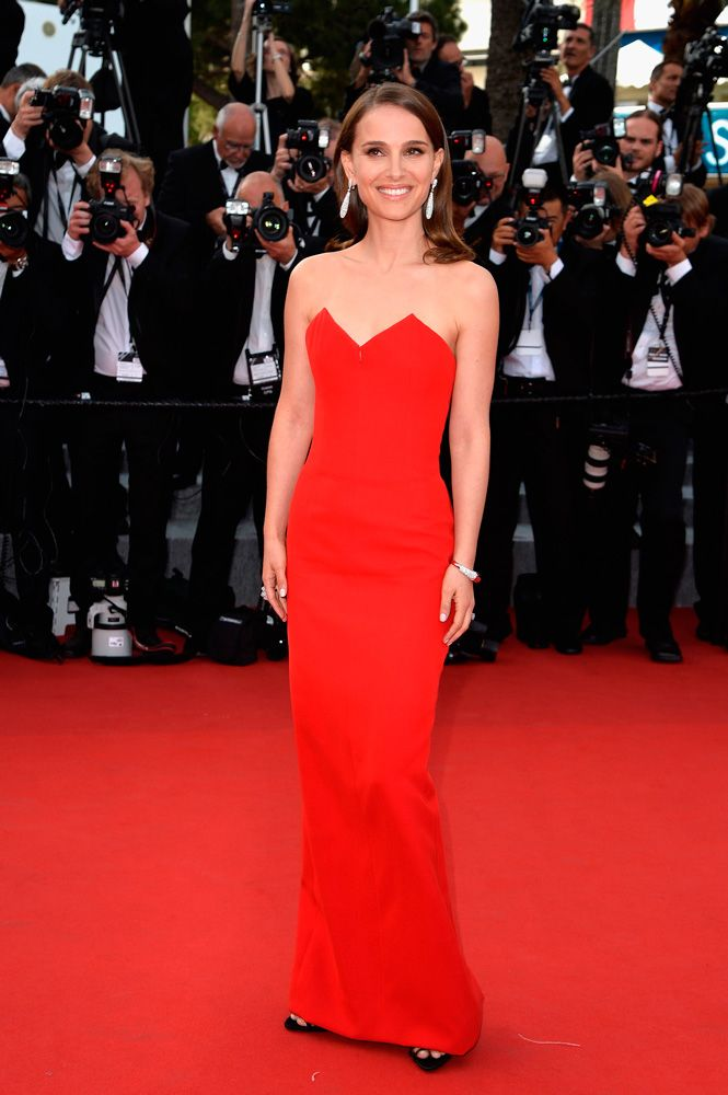 Natalie Portman de Christian Dior - Cannes 2015