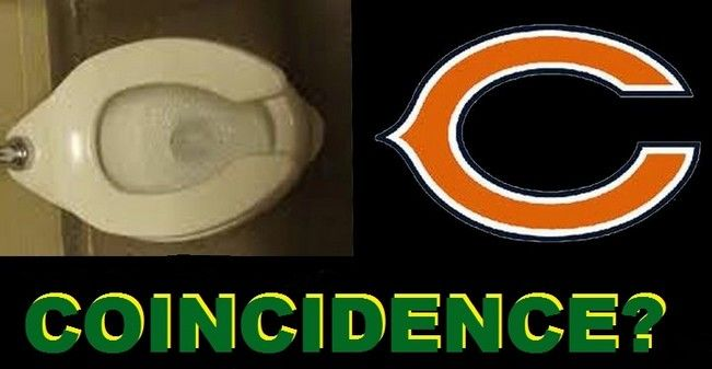 Wondrous Chicago Bears And The Toilet Seat Coincidence One For The Ocoug Best Dining Table And Chair Ideas Images Ocougorg