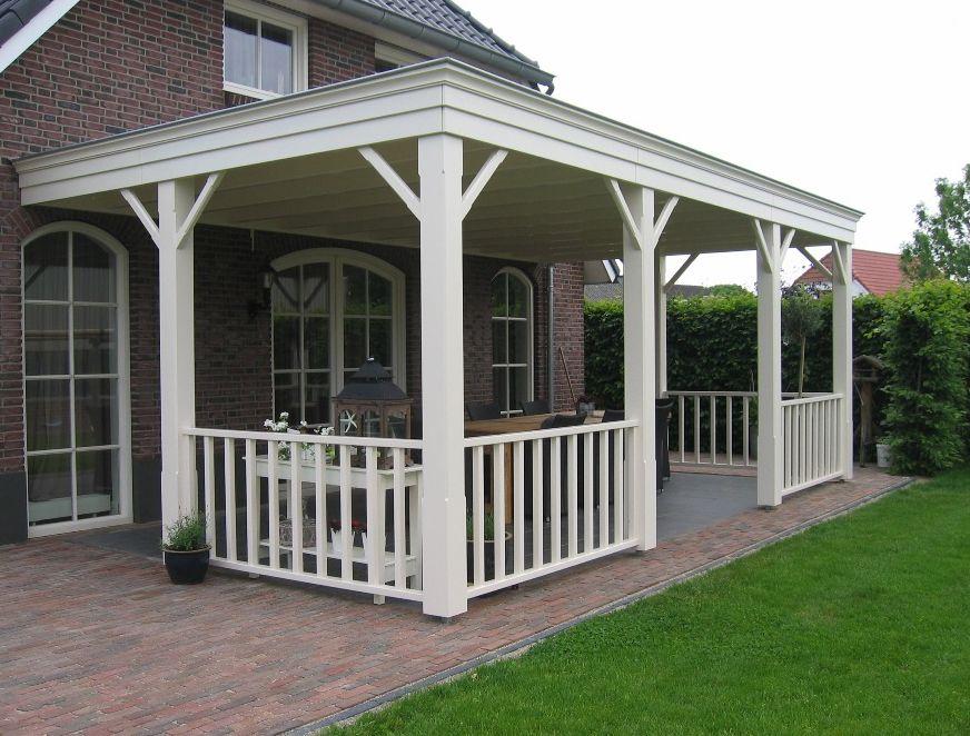 Overkapping terras terras overkapping hout veranda for Gartengestaltung jaspers