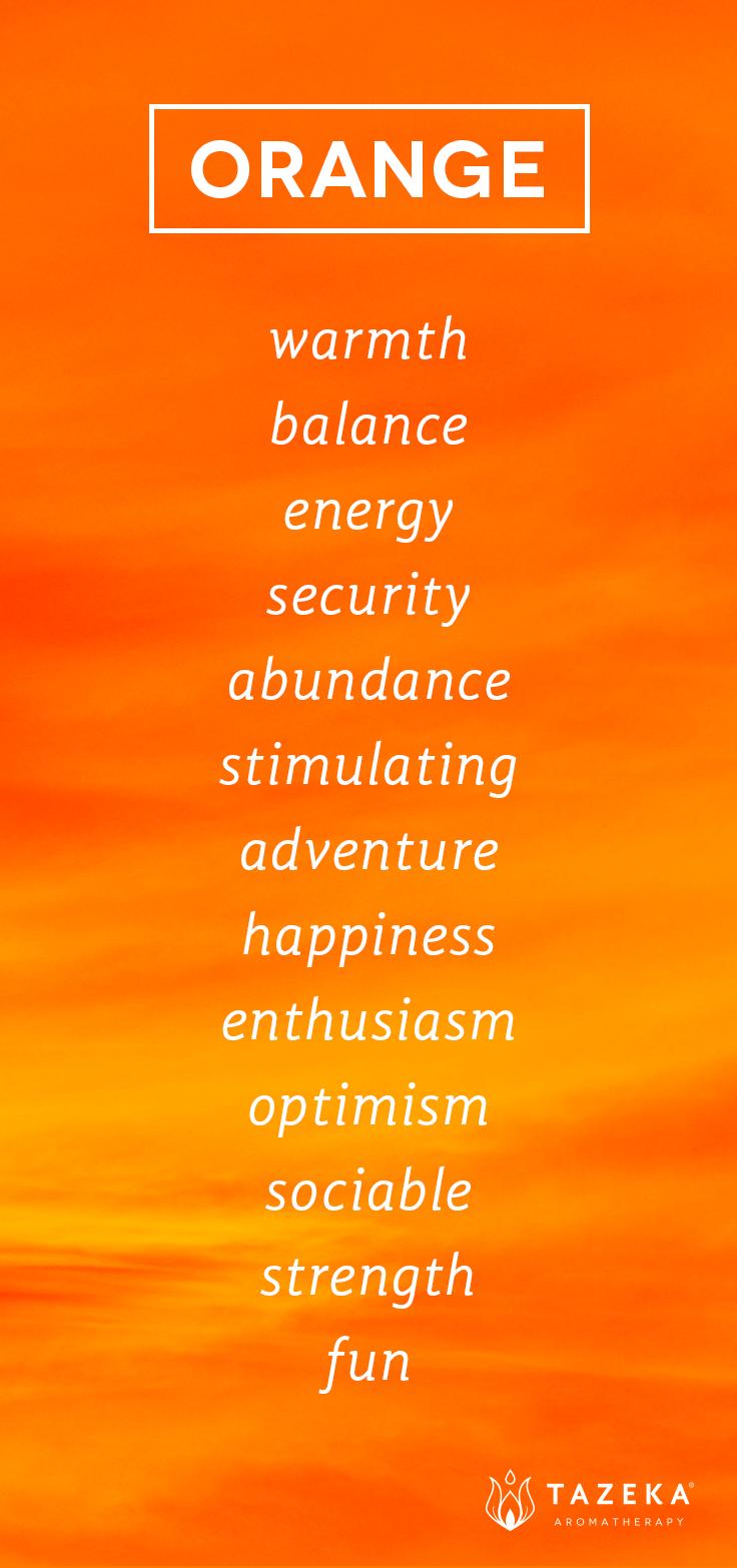 orange color psychology laranja pinterest laranjinha cores e