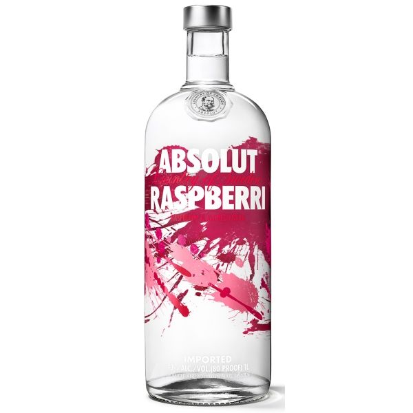 Absolut Raspberri Vodka De Frambuesa Vodka De Fresa Y Vodka