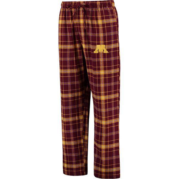 Minnesota Golden Gophers Concepts Sport Ultimate Flannel Pajama Pants - Maroon - $22.99