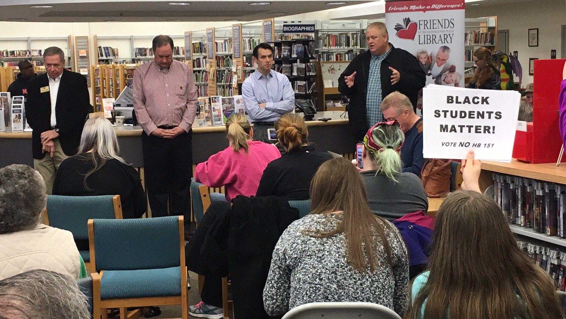 Tensions flare over neighborhood schools bill at Fern