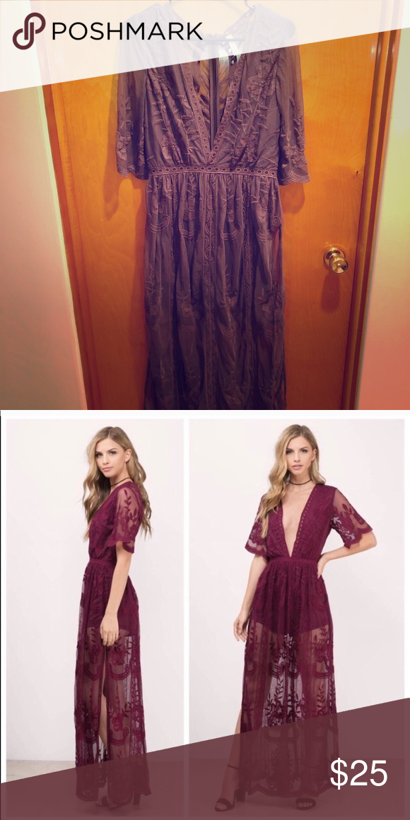 6f2d0301dc18 Purple lace romper Boho purple lace romper. Just like new! Worn once. Other
