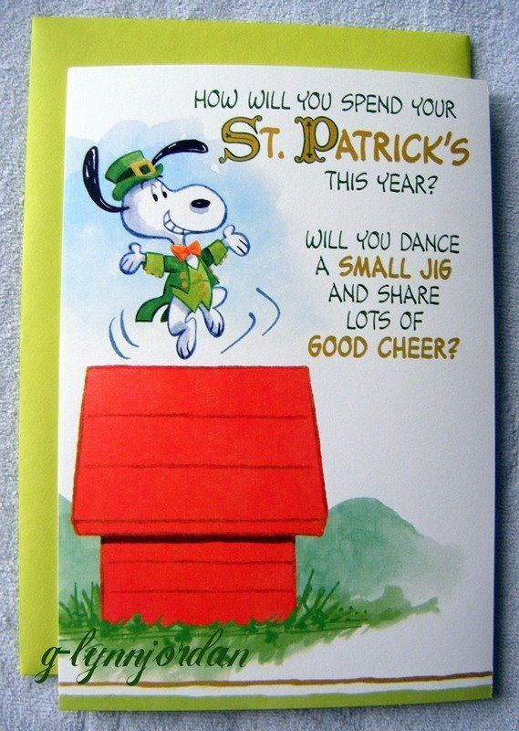 How you will spend your ST. PATRICK'S this year?  Will you do A SMALL JIG & share lots of GOOD CHEER?..............................................