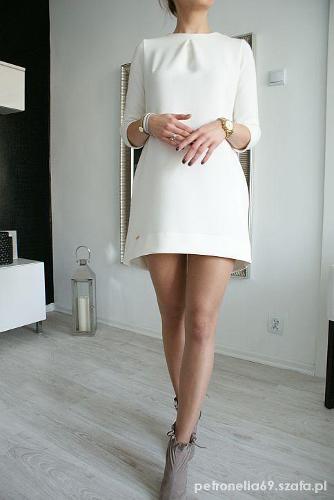 7822f5cb12 trapezowa sukienka biała - Szukaj w Google