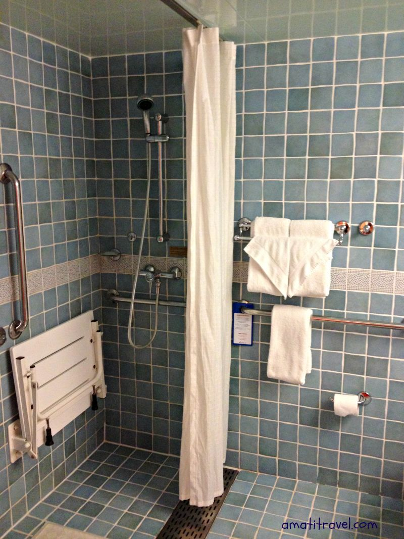 Accessible shower. Carnival Glory. #travel #cruising # ...