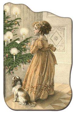 Glanzbilder - Victorian Die Cut - Victorian Scrap - Tube Victorienne - Glansbilleder - Plaatjes : Weihnachten mit Menschen #vintageweihnachten