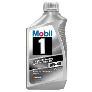 Mobil 1 96989 Synthetic 0w 40 Motor Oil 1 Quart Case Of 6 Diesel Particulate Filter Oil Change Fuel Economy