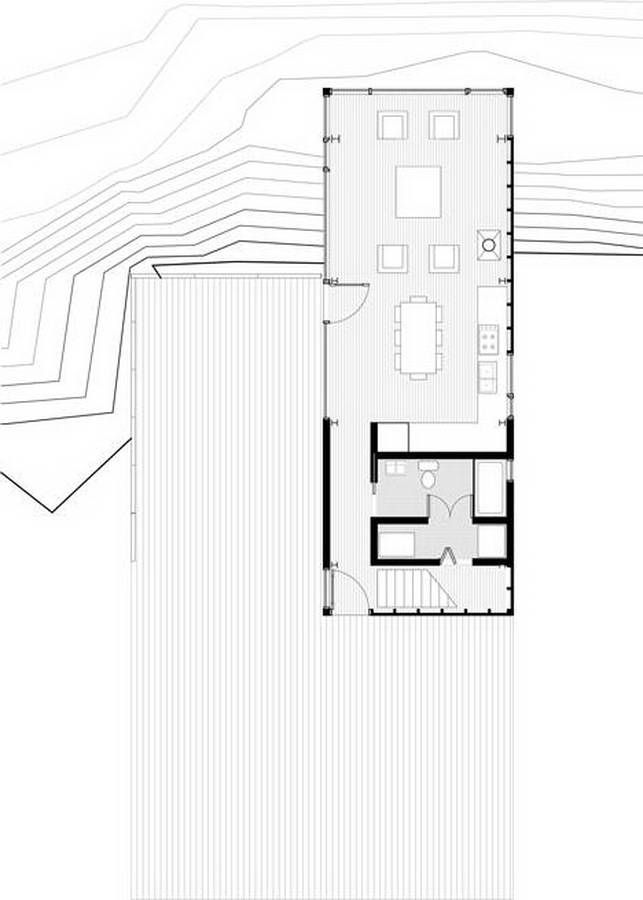 Cliff House / MacKay-Lyons Sweetapple Architects | plans | Pinterest ...