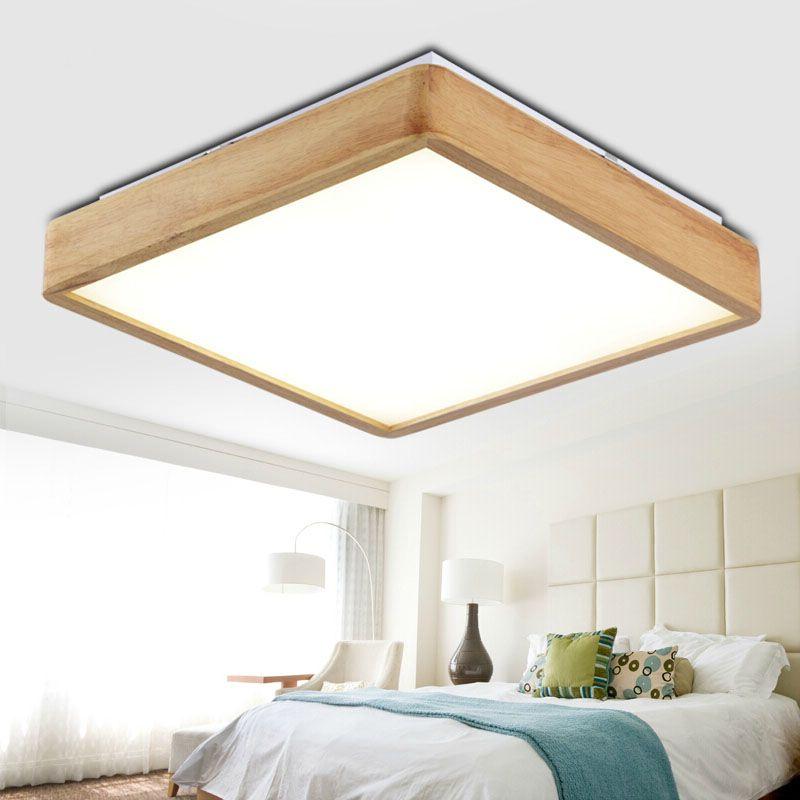 New Creative OAK Modern led ceiling lights for living room bedroom - deckenleuchte led wohnzimmer