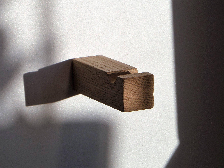 Set of pcs branch oak hook wood hook rustic hook cabin hook