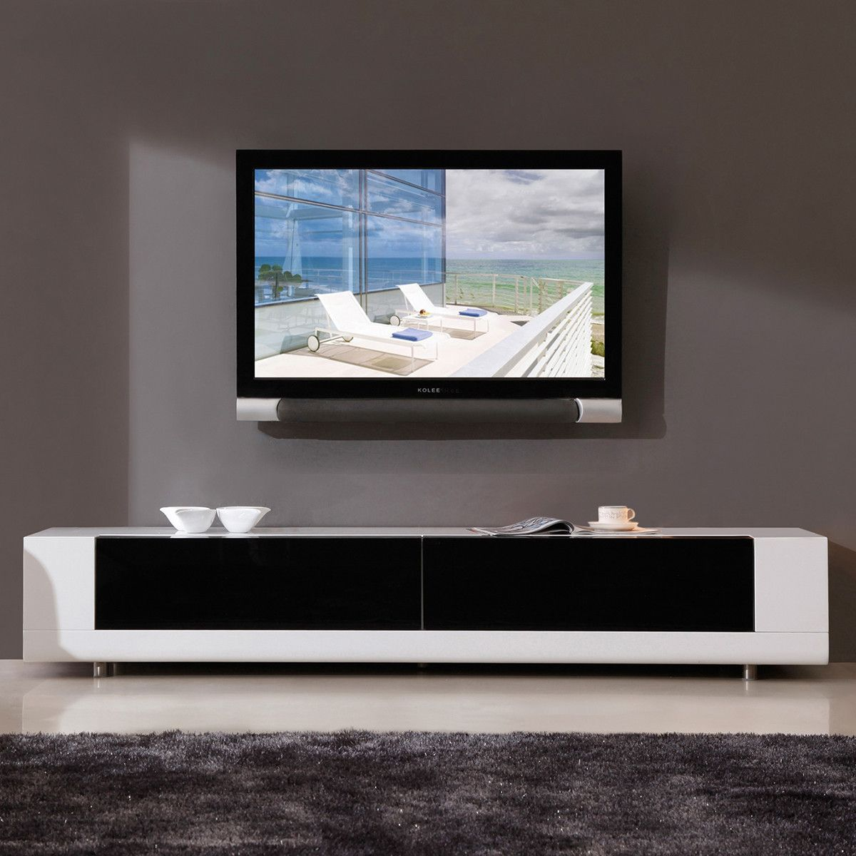 Minimalist Modern Media Cabinet I Love The Look Of This White