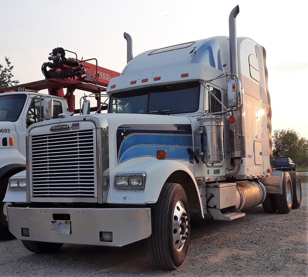 Genuine 2010 Freightliner Fld120 Classic Xl Double Bunk Sleeper Truck Glider Freightliner Freightliner Trucks Freightliner Trucks