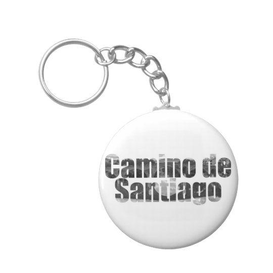 Llavero con el texto Camino de Santiago