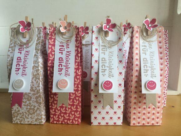 Weihnachtsgeschenke Kleinigkeiten.Kleinigkeit Für Dich 1 Empaques Diy Gift Box Gift Wrapping Und