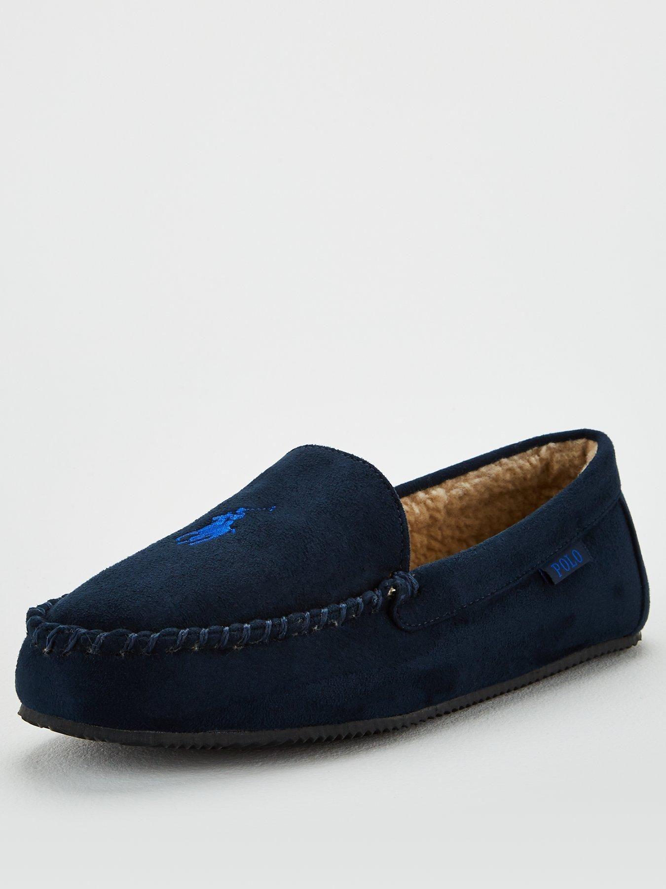 Dezi IV Moccasin Slippers - Navy in