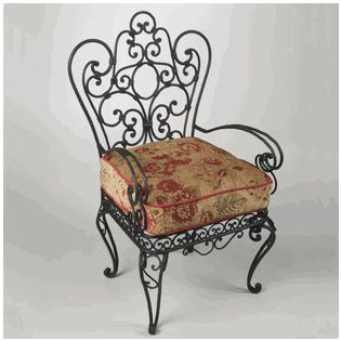 Gabriella Manor Chair Unique And Beautiful This Wrought Iron