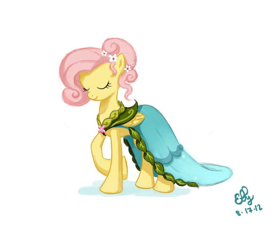 Journey Of The Spark Fluttershy Dress Concept Art | Journey Of The ...