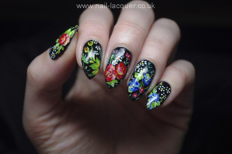Imgur Flower Nails Flower Nail Art Nail Art