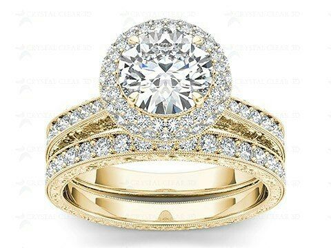 Katheleen Diamond Solitaire Ring In Gemstone & 18k Gold || 63274 onwards || http://tinyurl.com/n76tdxh