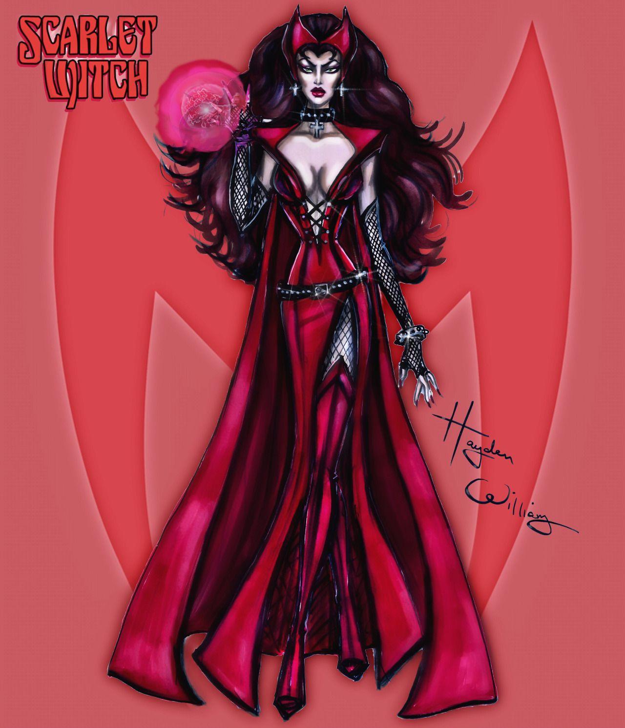 Marvel Divas by Hayden Williams : Scarlet Witch | HAYDEN WILLIAMS ...