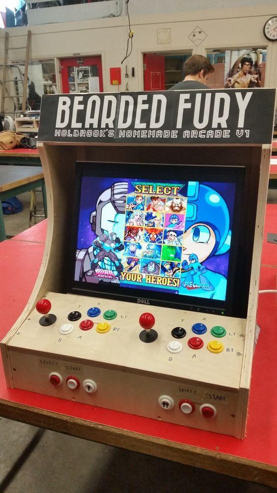 Enjoyable Plans For Building A Bartop Arcade System Using A Raspberry Download Free Architecture Designs Lukepmadebymaigaardcom