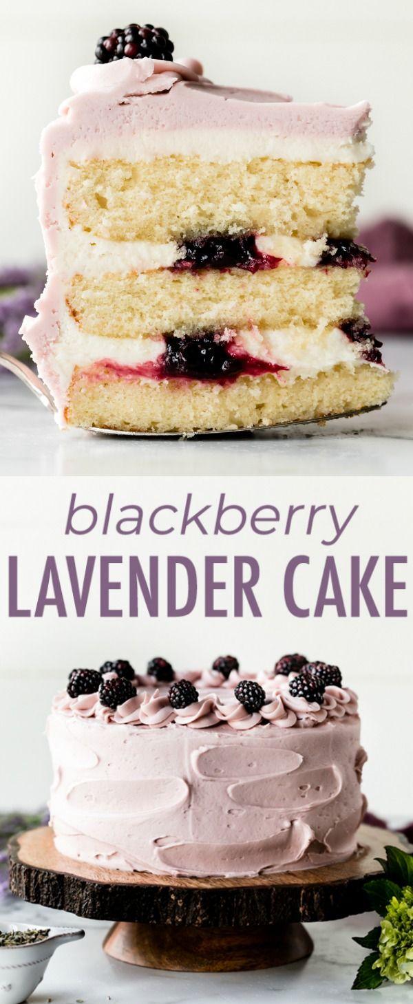 Blackberry Lavender Cake | Sally's Baking Addiction