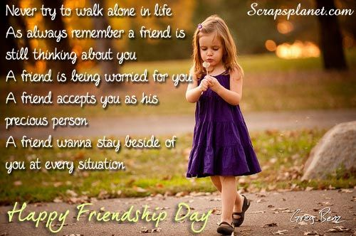Beautiful Friendship Pictures For Facebook Day Scraps Quotes