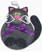 Friendly Black Cat Craft Kit - Crafts for Kids & Decoration Crafts