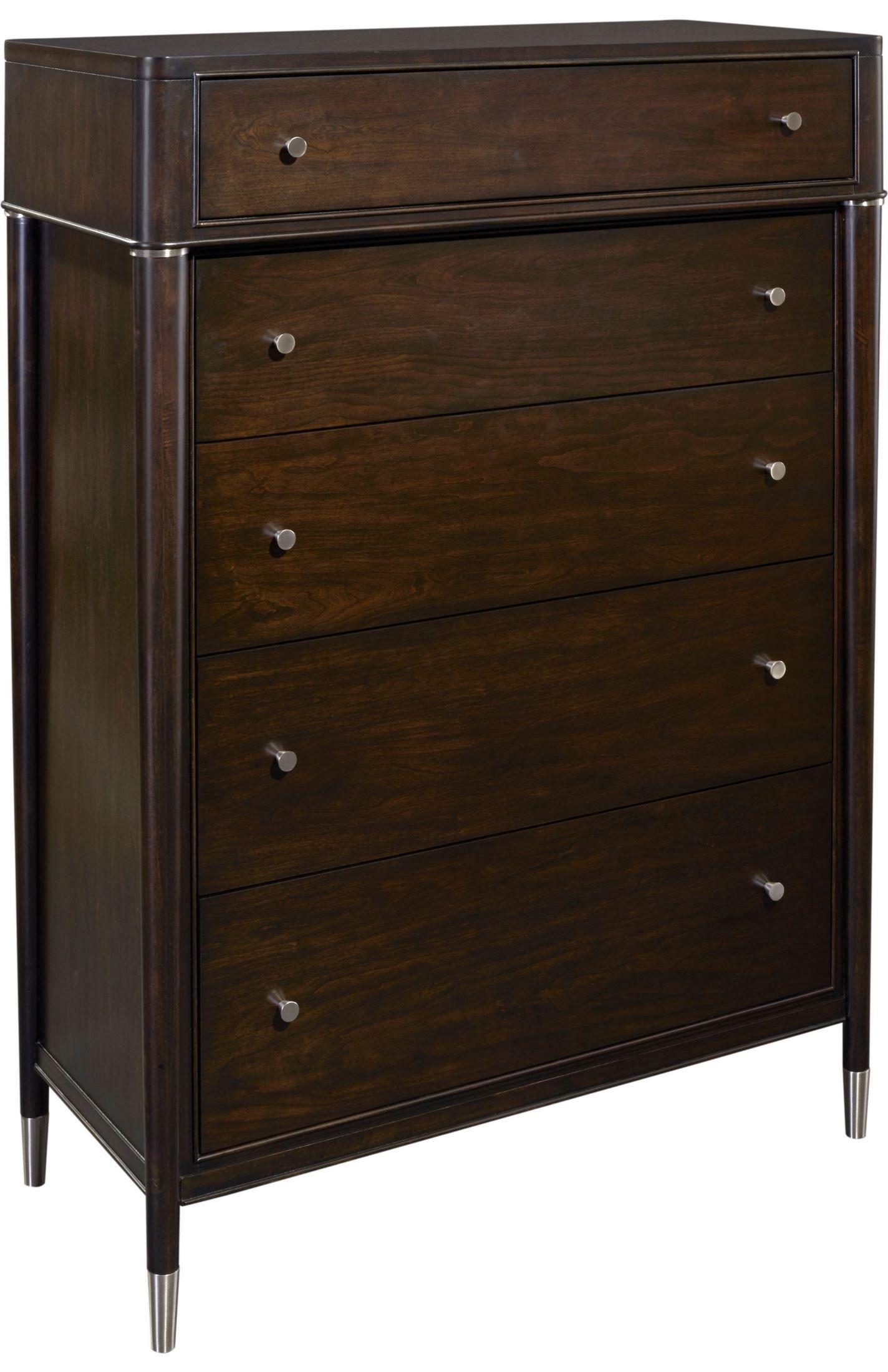 Broyhill Furniture - Vibe Merlot 5 Drawer Chest - 4257-240 ...