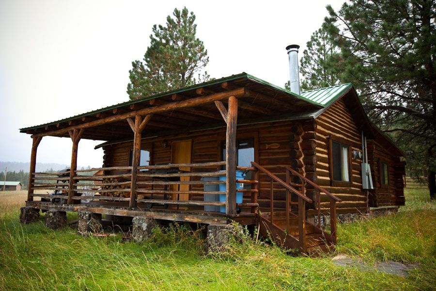 Brown 39 s cabin at the molly butler lodge in greer az for Cabins near greer az
