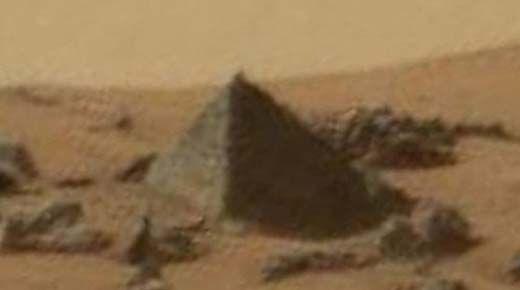 Nueva pirámide encontrado en Marte se une a una lista creciente