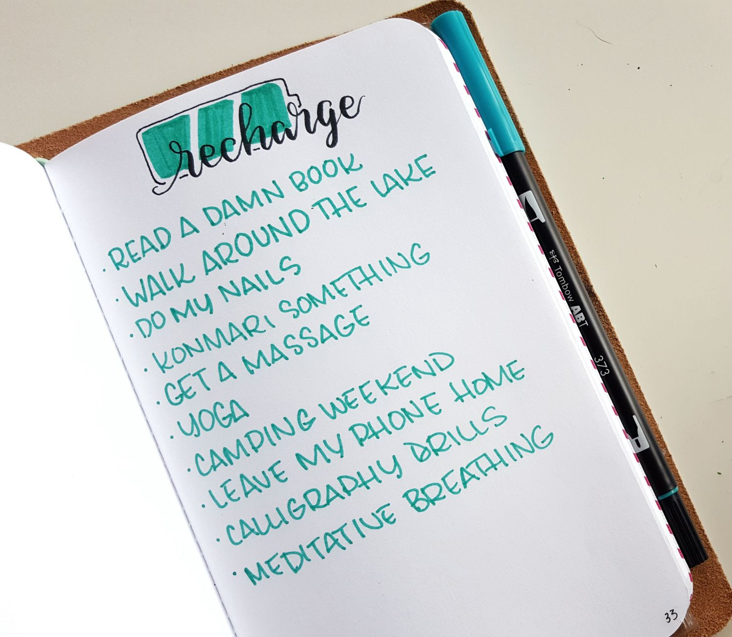 5 Ways To Add Self Care To Your Bullet Journal