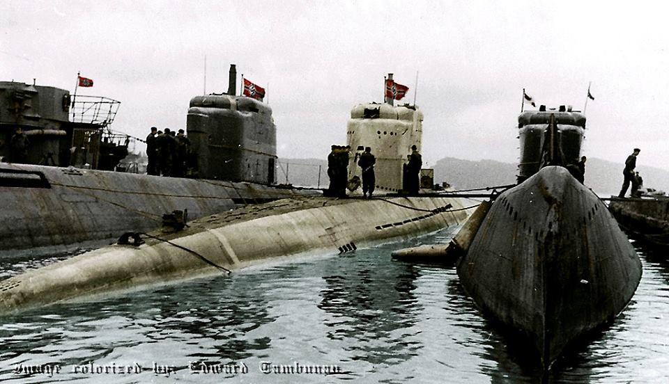 Type XXI U-Boats à la fin de la Seconde Guerre mondiale ...